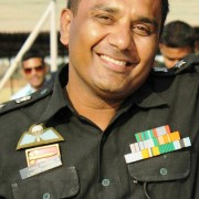 Col Lokesh Saxena, Osmania University