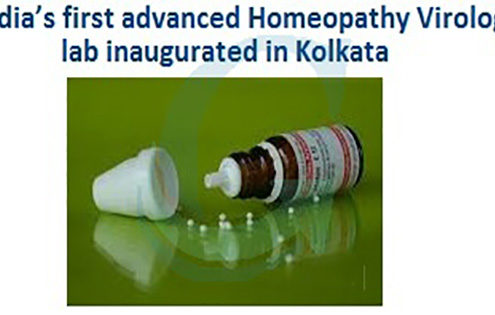 India's-first-advanced-Homeopathy-Virology-lab-inaugurated-in-Kolkata