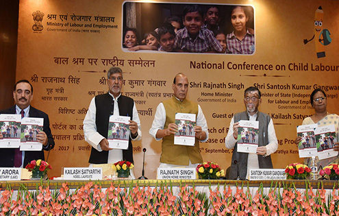 Rajnath_Singh_unveils_PENCIL_Portal_on_Child_Labour_Elimination