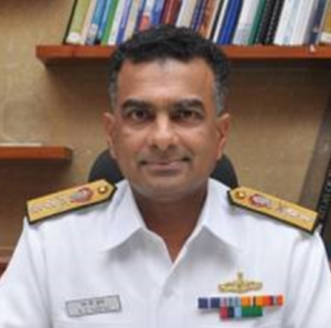 Rear Admiral MD Suresh AVSM, NM